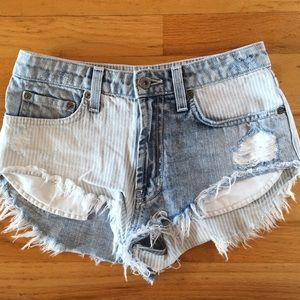 Carmar Pin Striped Shorts